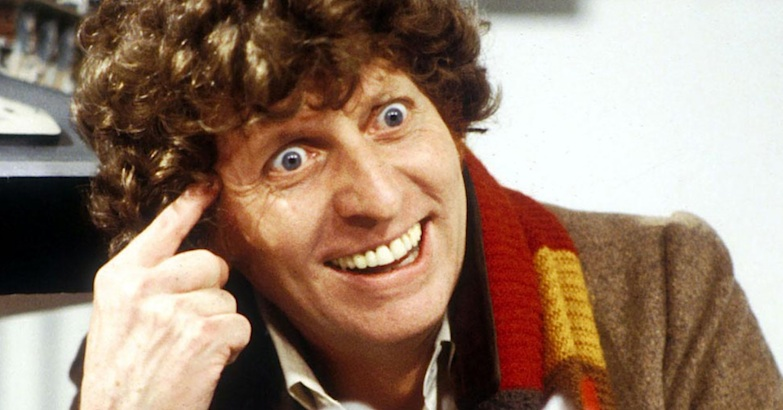 Doctor Who's Tom Baker hilariously loses his shit during a voice-over recording session
