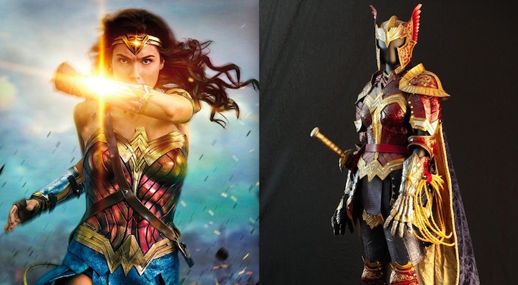 Check out this Medieval Wonder Woman battledress
