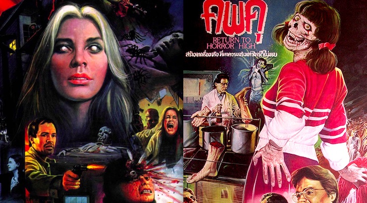 These gruesome horror movie posters from Thailand really know how to sell their shit