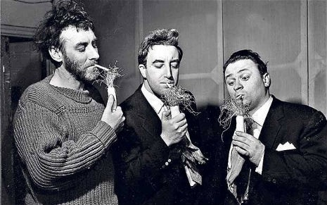 Peter Sellers, Spike Milligan & John Cleese star in a 'Goon Show' TV special, 1968