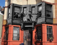 Old New York crime photographs superimposed on their present day locations