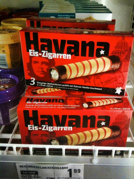 What's with the Che Guevara obsession among ice cream manufacturers???