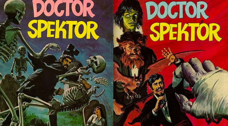 Thrill to 'The Occult Files of Doctor Spektor,' forgotten comic book hero