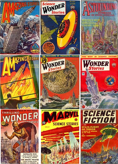 Frank R. Paul Covers
