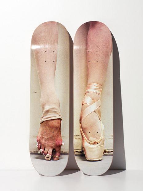 Ballerina skate decks