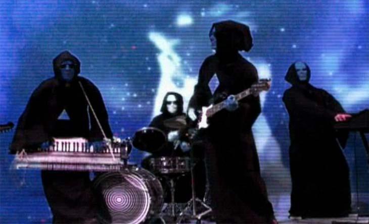Space rockers Lumerians premiere their retina-burning 'Transmissions from Telos Vol. III'