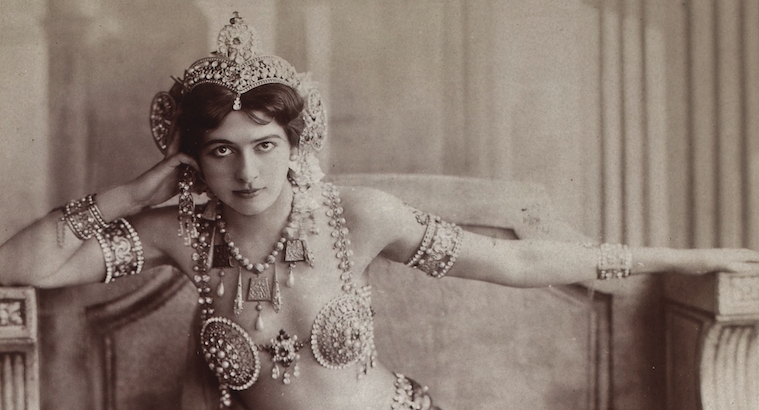 Mata Hari: Sexy photographs of the original femme fatale
