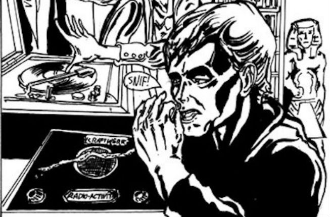 'The Side Effects of the Cocaine': Mini-comic about David Bowie's coked-up, paranoid years