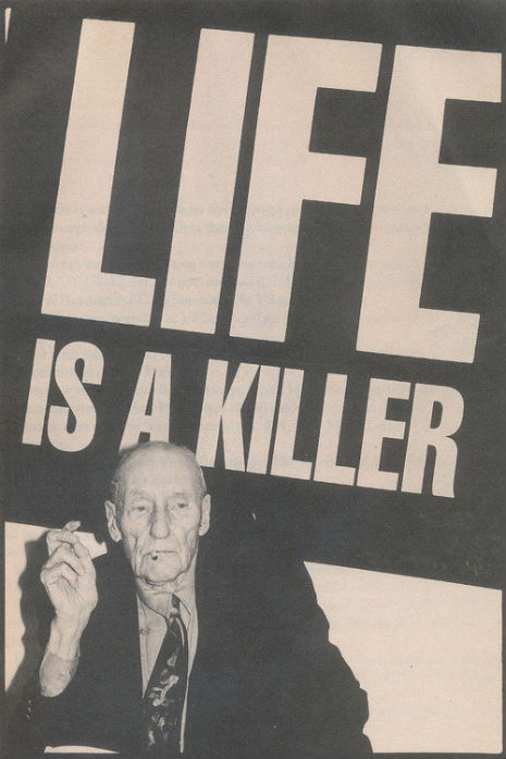Happy birthday William S. Burroughs!