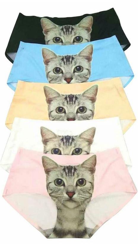 3-D printed cat panties