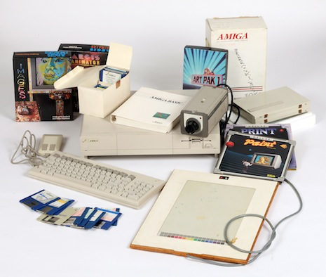 Amiga equipment