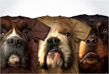mountain_dog_face_Tshirts_3