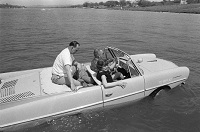 Lyndon Johnson's Amphibious Car