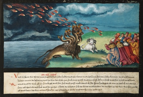 Terrifying, vivid portents of doom from 16th-century Germany