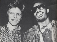 Stevie Wonder and David Bowie: One of the great missed opportunities in color photography