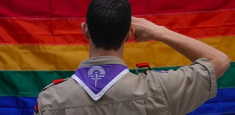 BSA Pride flag