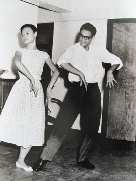 Bruce dancing