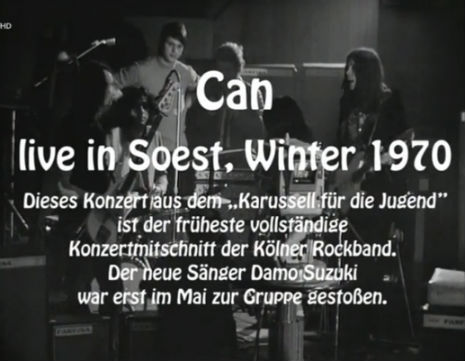 Early footage of Can in Soest is the funkiest German thing you'll hear all day