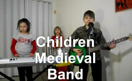 children_medieval_band