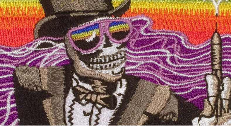 The DEA has trippy looking patches that make you kinda WANT to do drugs