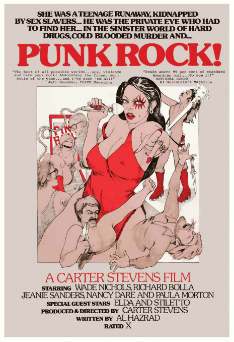 Poster Art for Punk Rock