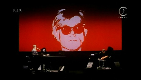 'Songs for Drella': Lou Reed and John Cale pay tribute to Andy Warhol, live 1989