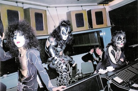 KISS in the studio