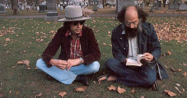 Allen Ginsberg and Bob Dylan's song for the gay liberation movement