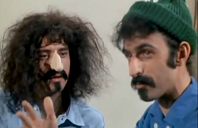 Frank Zappa & the Monkees: 'No, YOU'RE the popular musician, I'M dirty gross and ugly'
