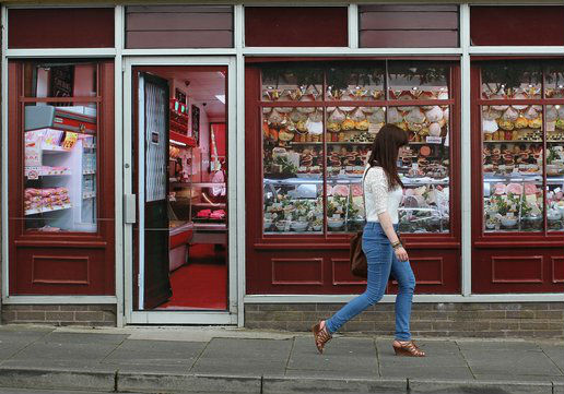 Irish town erects fake shop fronts for G8 summit