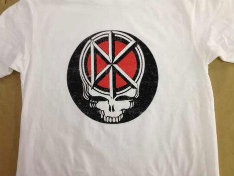 Steal Yer Money: 'Grateful Dead Kennedys' tee-shirt