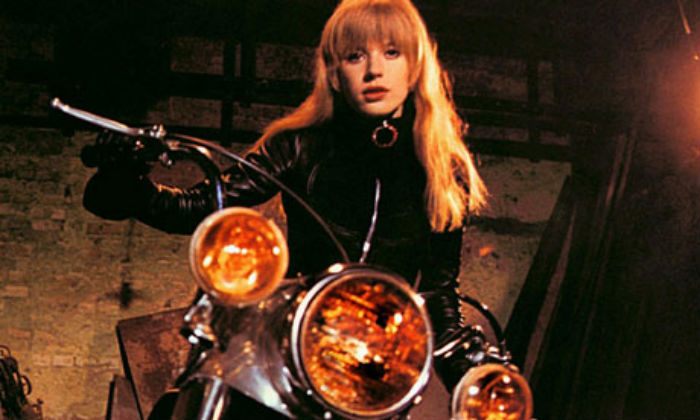Marianne Faithfull Is Naked Under Leather In Girl On A -7360