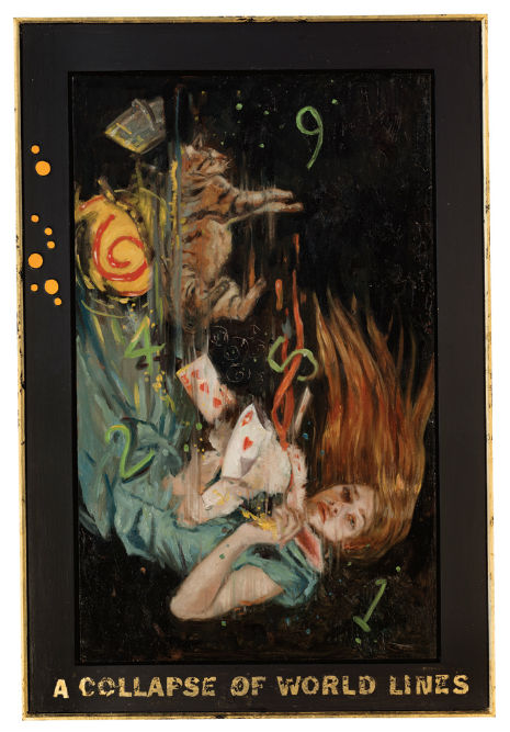 Fragmented Alice: Artist Gail Potocki's exploration of Alice in Wonderland and the passing of time