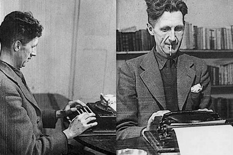 george_orwell_typing
