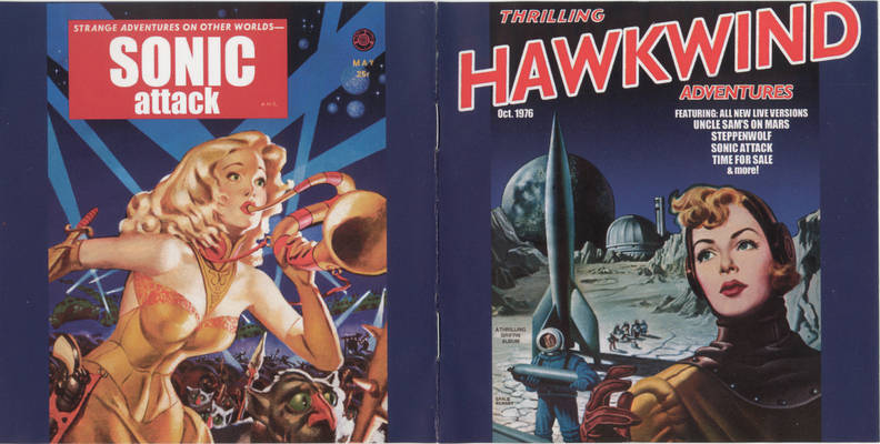 The Hawkwind sci-fi trilogy