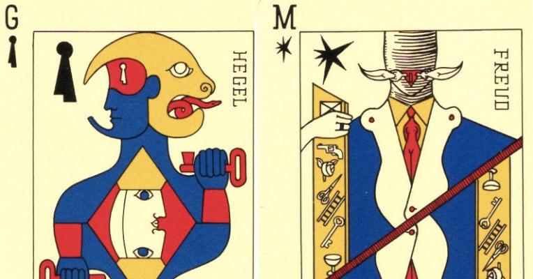 The Surrealists' tarot deck