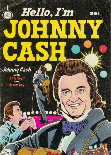 'Hello, I'm Johnny Cash': The 1976 Christian comic book