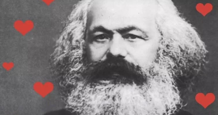 Dreading Valentines Day? Have a laugh at Karl Marx's godawful corny love poems!