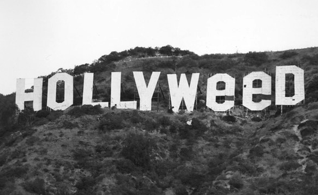 In 1976, pot-head pranksters made 'Hollyweed' out of the iconic Hollywood sign