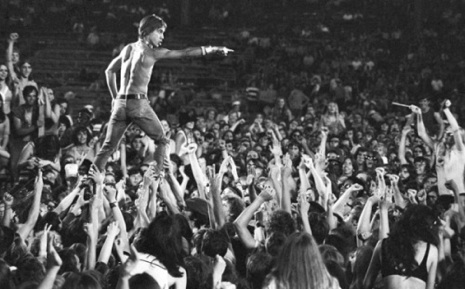 Raw Power: Iggy Pop invents stage diving in 1970 and smears himself in peanut butter