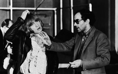 Jean-Luc Godard shoots The Rolling Stones in the studio working up 'Sympathy for the Devil,' 1968