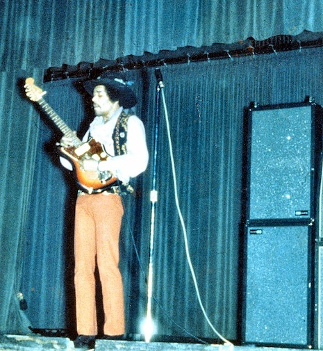 Jimi Hendrix's eye-popping receipts from legendary NYC shop Manny's Music