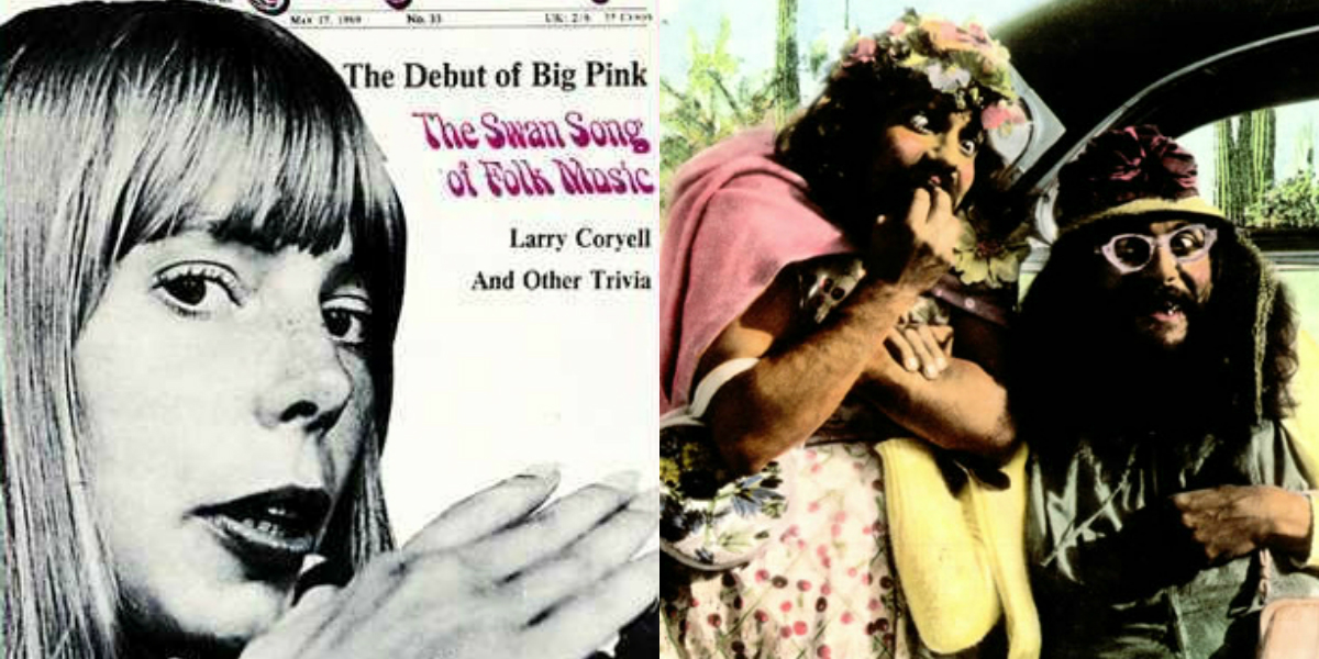 When Joni Mitchell recorded with Cheech & Chong…