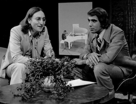 John Lennon and Tom Snyder