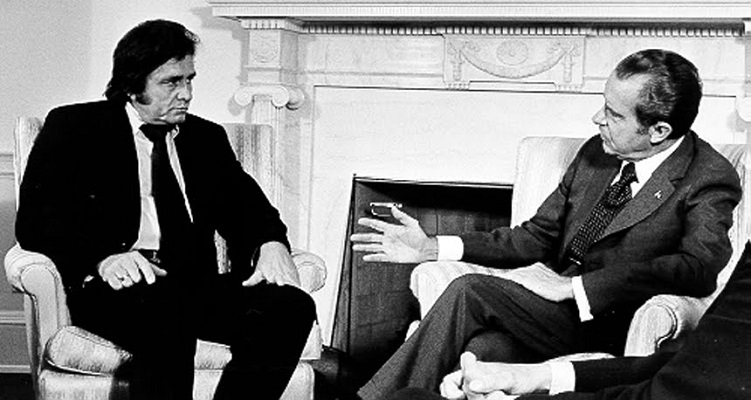 White House memo suggests Nixon 'neutralize' Johnny Cash, 1970