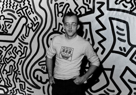 Keith Haring's remarkably uninhibited erotic mural at the LBGT Community Center