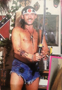 Lemmy Kilmister being as Lemmy as he can be, a lesson in heavy metal semiotics