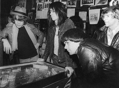 David Johansen, Lenny Kaye, Dee Dee Ramone, Andy Paley