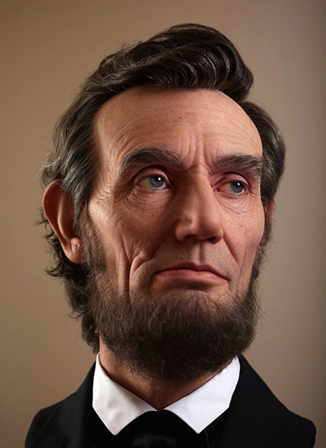 Lincoln Scultpture Close-up