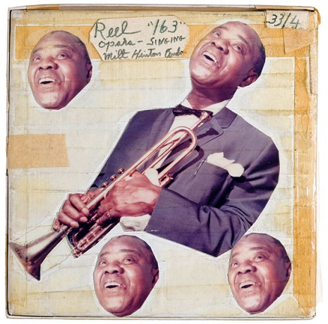 The little-known collage art of Louis Armstrong